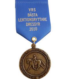 Medalj med satinband - häst